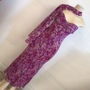 Papell Boutique evening silk dress